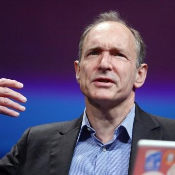 British computer scientist Tim Berners