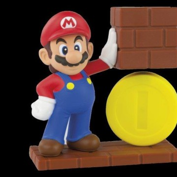 "Image: Mario, one of eight ""Mario""-themed Happy Meal available from McDonalds, but only in the UK."