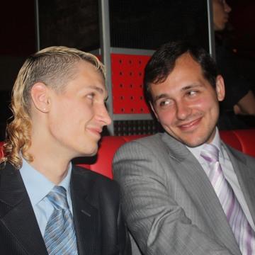 Image: Vladimir Rudyuk, 27, and Pavel Afanasyev, 29