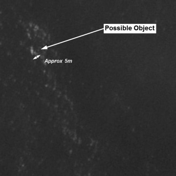 Image: Satellite image that may be associated with missing Malaysian Airlines Flight 370
