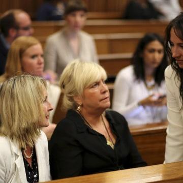 Image: Aimee Pistorius, June Steenkamp