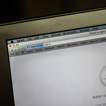 Image: Twitter blocked in Turkey
