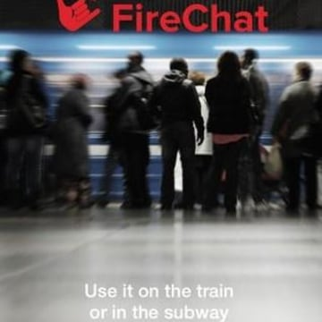 Image: Firechat app
