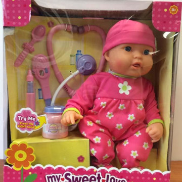 Wal-Mart is recalling the My Sweet Love / My Sweet Baby Cuddle Care Baby Doll because of a burn hazard.