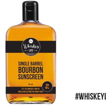IMAGE: Casker's Single Barrel Bourbon Sunscreen