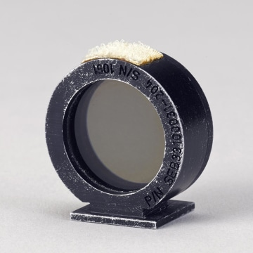 Image: Motion picture camera sight ring from Apollo 15 moon mission