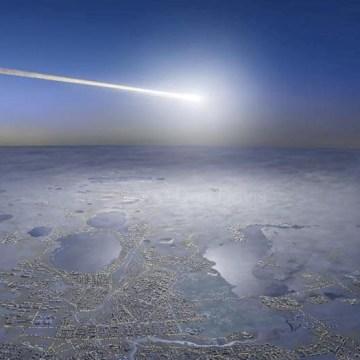 Image: Chelyabinsk meteor