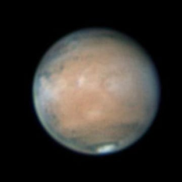 Image: Mars in 2012