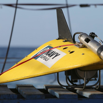 Image: Towed pinger locator
