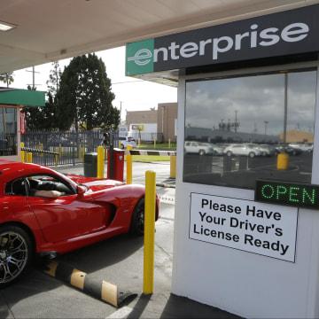 Image: A 2013 Dodge Viper rental car