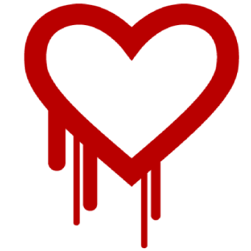 Image: Heartbleed bug