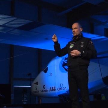 Image: Solar Impulse pilots