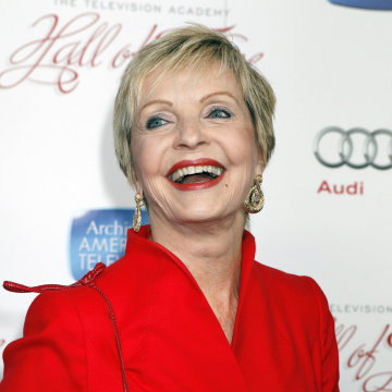 Image: Actress Florence Henderson poses in Beverly Hills