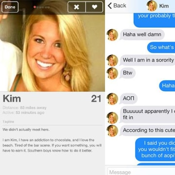 Kim Fake Profile