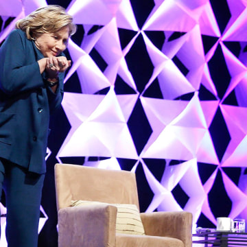 Image: ***BESTPIX*** Hillary Clinton Addresses Recycling Industries Trade Conference In Las Vegas