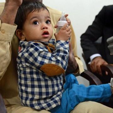 Image: PAKISTAN-CHILDREN-JUSTICE-POLICE