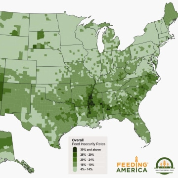 Image: Food insecurity rates