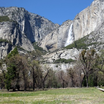 Image: Yosemite Falls is seen in Yosemite National Park