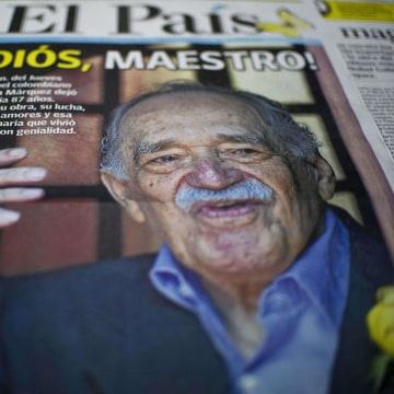 Image: COLOMBIA-MEXICO-LITERATURE-GARCIA MARQUEZ-DEATH