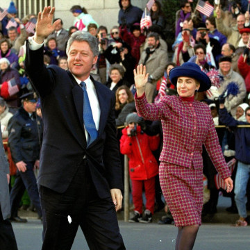 Image: Hillary Rodham Clinton, Bill Clinton