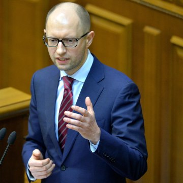 UKRAINE-UNREST-GOVERNMENT-YATSENYUK
