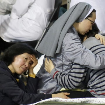 Image: South Korea ferry sinking