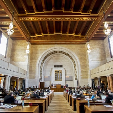 Nebraska's Unicameral Legislature at the Capitol in Lincoln, Neb. Some states give better value to taxpayers than others. How does your state rank?