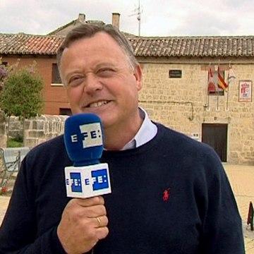 Image: Castrillo Matajudios Mayor Lorenzo Rodriguez Perez