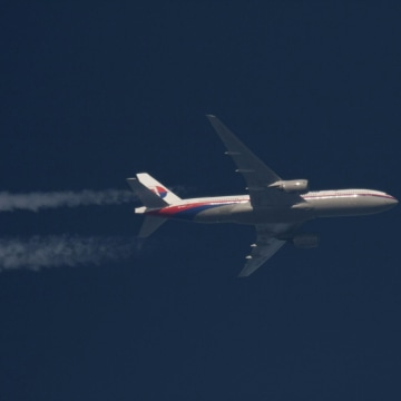 Image: File picture of the missing Malaysia Airlines Boeing 777 with the registration number 9M-MRO