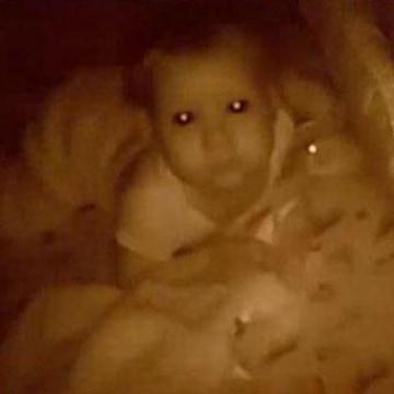 Baby night vision