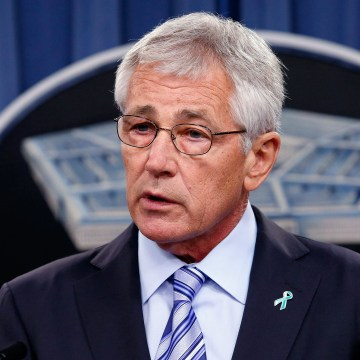 Image: U.S. Secretary of Defense Chuck Hagel.