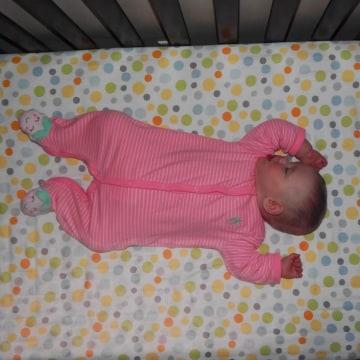8-month-old twin Charlotte Massoud