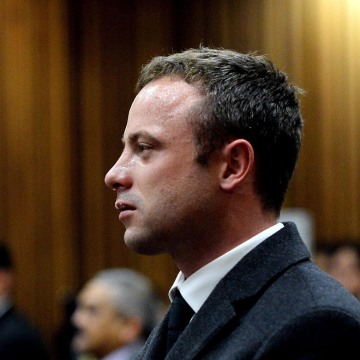 Image: Olympic and Paralympic track star Oscar Pistorius