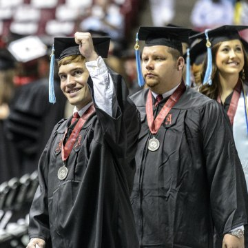 A new study shows that over a lifetime a college graduate likely will earn $800,000 more than a person with only a high school diploma.