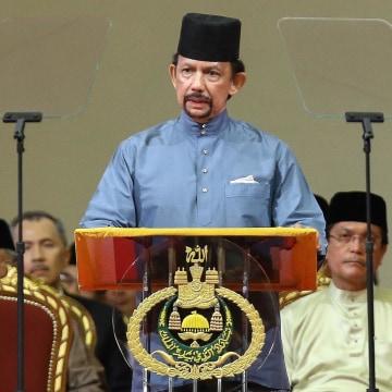 Image: Brunei's Sultan Hassanal Bolkiah