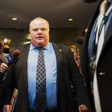 Image: Toronto Mayor Rob Ford