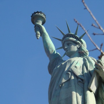 Image: This replica of the Statue of Liberty in Birmingham, Alabama, is 31-feet tall.