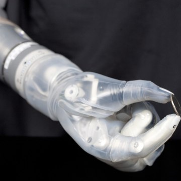 Image: DARPA handout image shows the DEKA Arm System