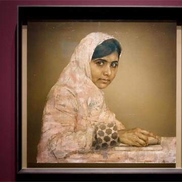 Image: Malala Yousafzai by Jonathan Yeo