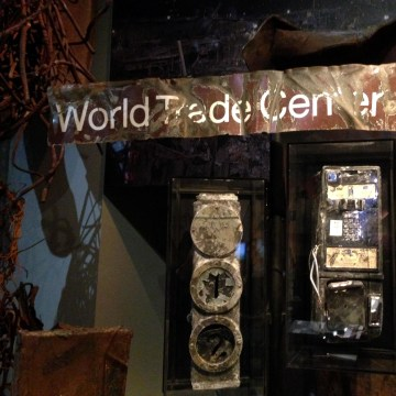Image: Exhibitions in the National September 11 Memorial Museum