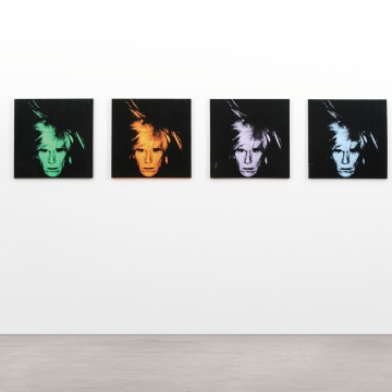 """Six Self Portraits"" by Andy Warhol"