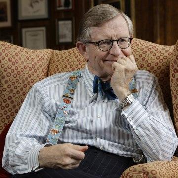 Image: West Virginia University President E. Gordon Gee