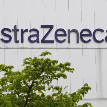 Image: AstraZeneca manufacturer site in Macclesfield, England