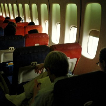 Image: Airplane interior