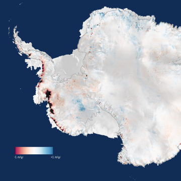 Image: Antarctic ice loss