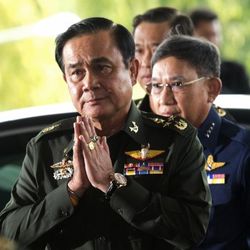 Image: Thai army chief General Prayut Chan-O-Cha