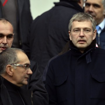 Image: Monaco Football club 's Russian President Dmitry Rybolovlev