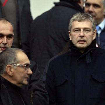 Image: Monaco Football club 's Russian President Dmitry Rybolovlev