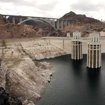 Image: The Hoover Dam, in Nevada, is operated by the U.S. Bureau of Reclamation