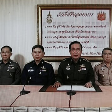Image: Thai Army chief seizes power after reconciliation talks fail